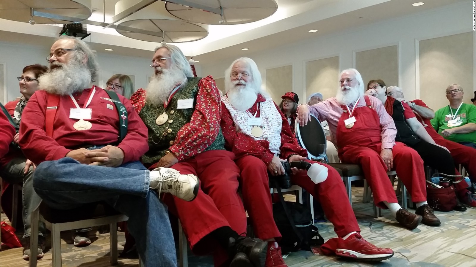 santa claus is the trick to being like st nick cnn