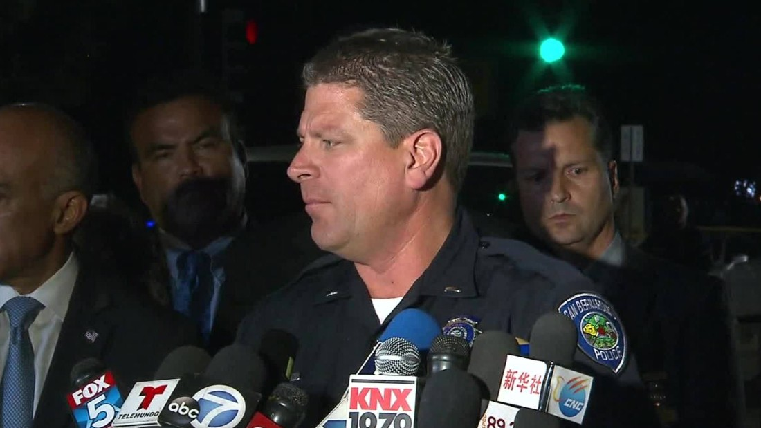 San Bernardino shooting: Carnage was 'unspeakable,' police say
