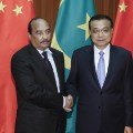 Mauritania china handshake