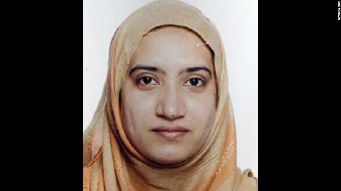 Who were Syed Rizwan Farook and Tashfeen Malik?