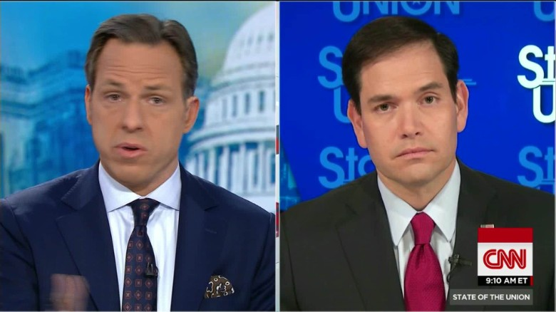 "Rubio: No-fly list has ""significant"" errors"