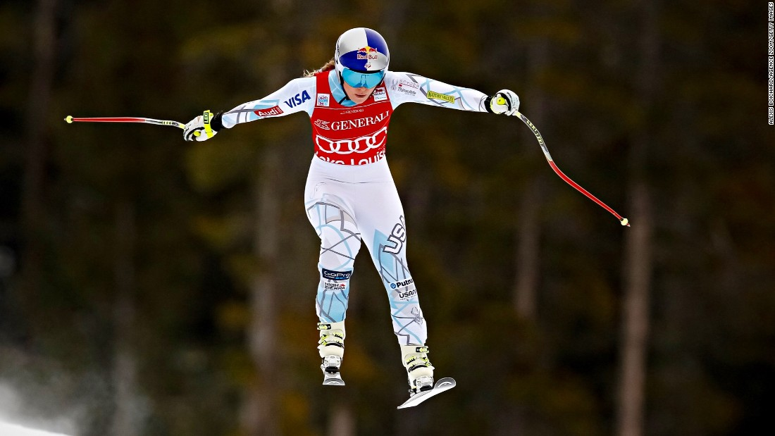 No competitor came within half a second of Vonn in the week's three races.