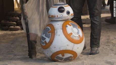 """BB-8 dans """" Le Réveil de la Force. """""""