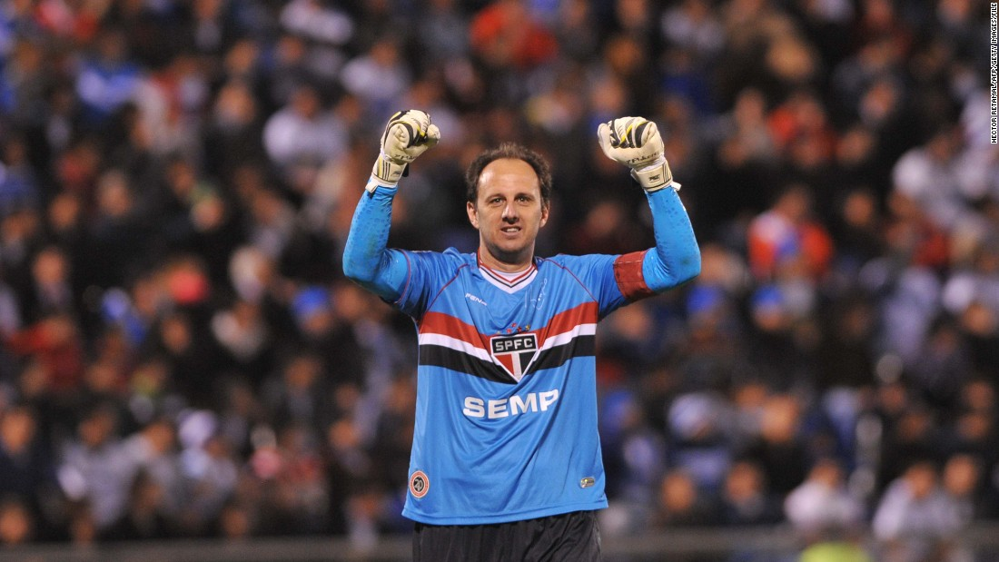 The goalscoring goalkeeper has finally hung up his gloves. Rogerio Ceni, the Brazilian who scored 131 goals in his career, has retired after 23 seasons with Sao Paulo.