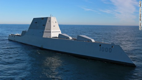 USS Zumwalt begins sea trials