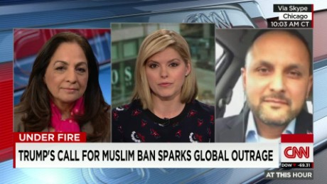 exp Trump doubles down on ban of Muslims into U.S. _00002001