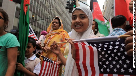 The Pew survey showed 9 in 10 American Muslims said they were proud to be both.
