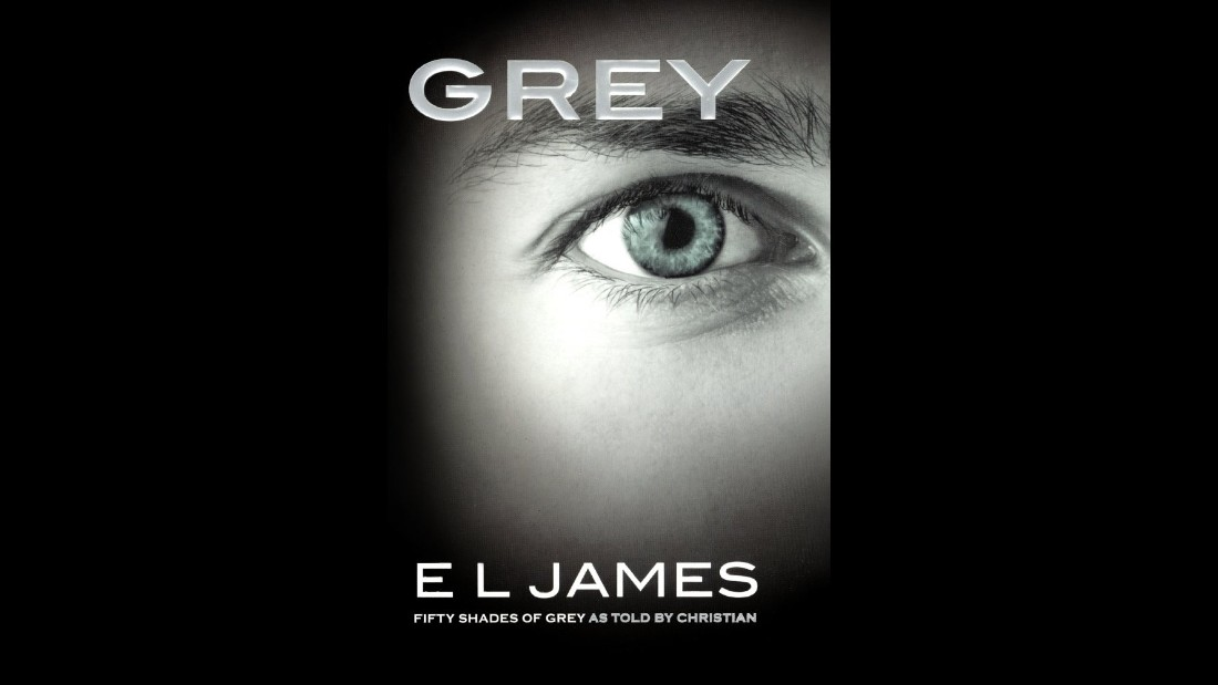 "Fans of ""Fifty Shades of Grey"" propelled E.L. James' ""Grey"" to second place with a tale about life as seen through Christian Grey's eyes."