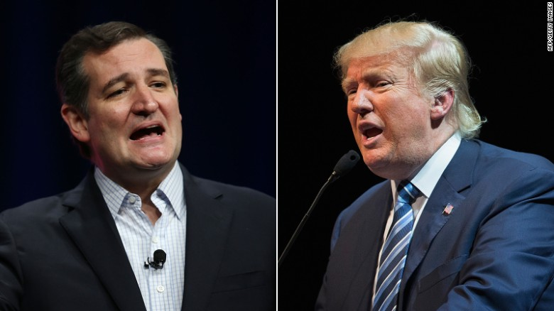 Trump v Cruz; the Republican civil war goes public