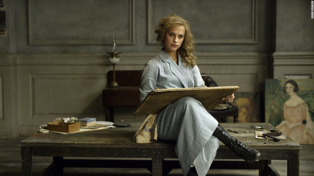 "<strong>Best supporting actress:</strong> Alicia Vikander, ""The Danish Girl"""