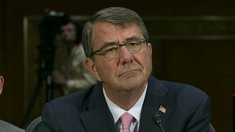 Defense secretary under fire over ISIS strategy