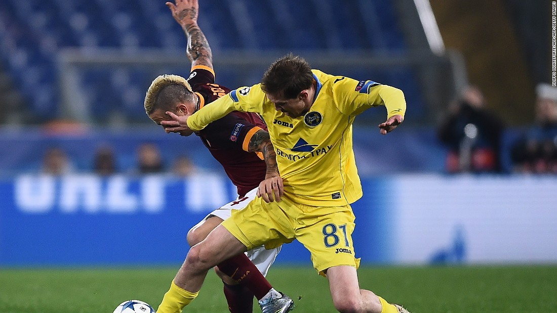 Roma sealed second spot in Group E with a goalless draw against Bate Borisov in Belarus.