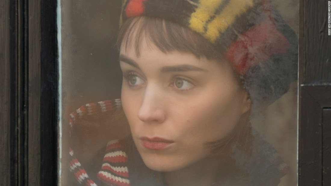 """Carol"" star Rooney Mara received a nod for best performance by an actress in a drama. Also nominated are her ""Carol"" co-star Cate Blanchett,  Brie Larson (""Room""), Saoirse Ronan (""Brooklyn"") and Alicia Vikander (""The Danish Girl"")."