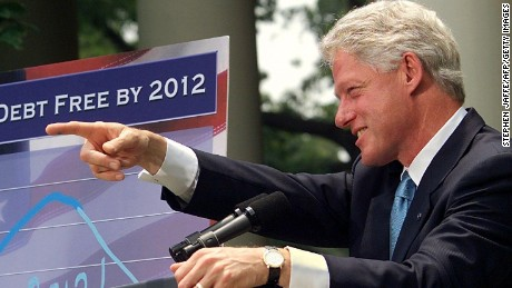 Modern presidents such as President Bill Clinton sometimes face health questions from reporters or candidates.