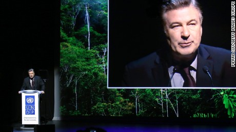 Alec Baldwin presents the Equator Prize 2015 Award Ceremony this week in Paris.