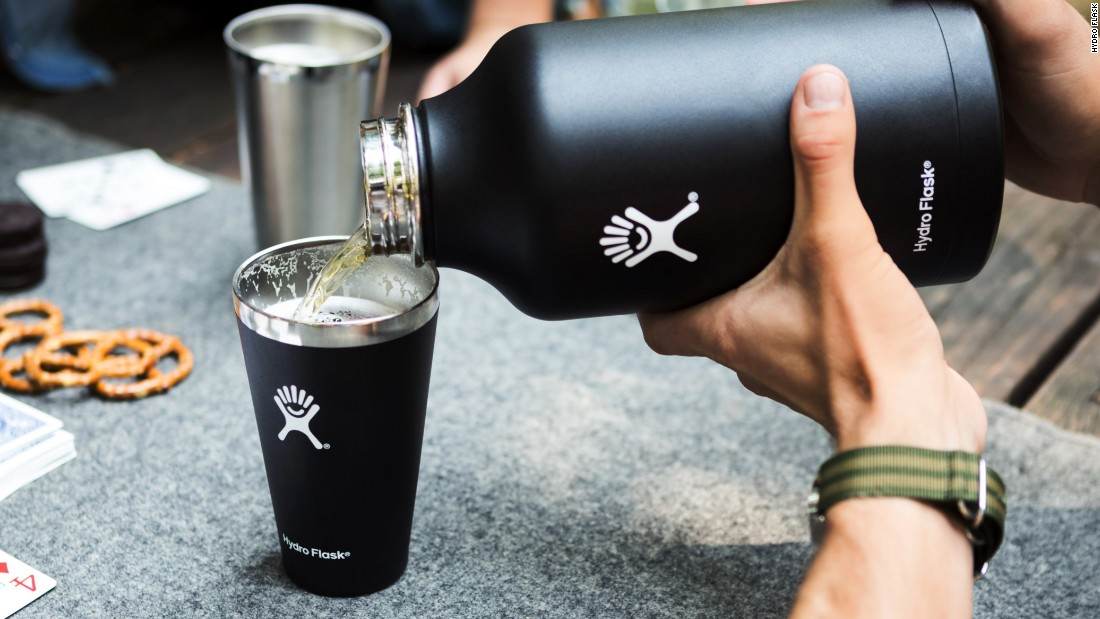 "This<a href=""https://www.hydroflask.com/32-oz-growler"" target=""_blank""> 32-ounce, insulated stainless steel growler </a>is engineered to keep your beer (or any beverage) cold for hours, even on the hottest days. Pair it with the Hydro Flask pint glass for seamless and stylish drinking."