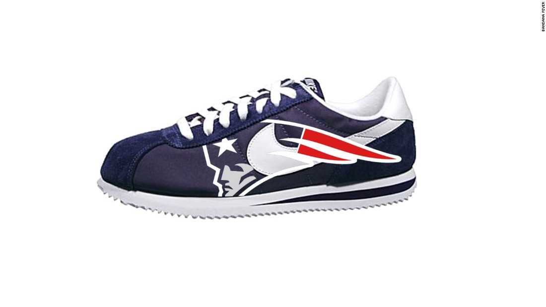 "<a href=""http://bandanafever.com/"" target=""_blank"">Bandana Fever</a> sells customized kicks for sports fans who want to walk the extra mile for team spirit. The fashion conscious can find Converse canvas sneakers emblazoned with the Chicago Bears logo or New England Patriots-themed Nike running shoes on the site."