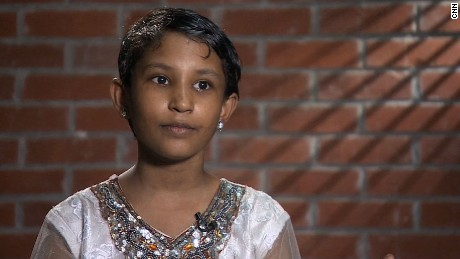CNN Freedom Project - Mahfuza Akhter 'Happy' - Cricketer's Child Maid
