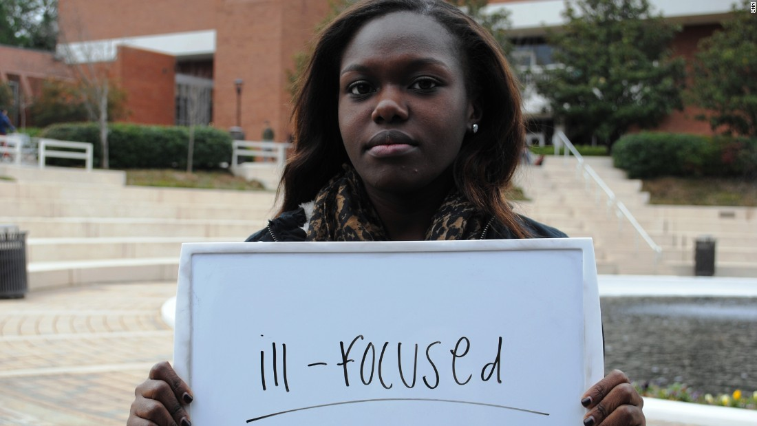 "Janelle Owusu from Georgia Tech in Atlanta describes the election as ""ill-focused."" She is personally concerned about health care."