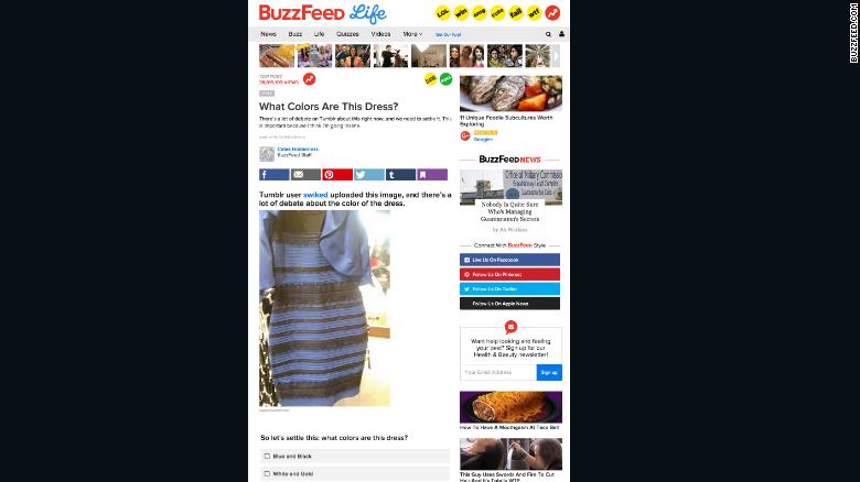 Black blue white gold dress buzzfeed