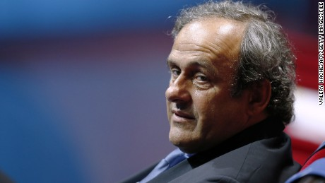 Michel Platini withdraws name from FIFA presidential race