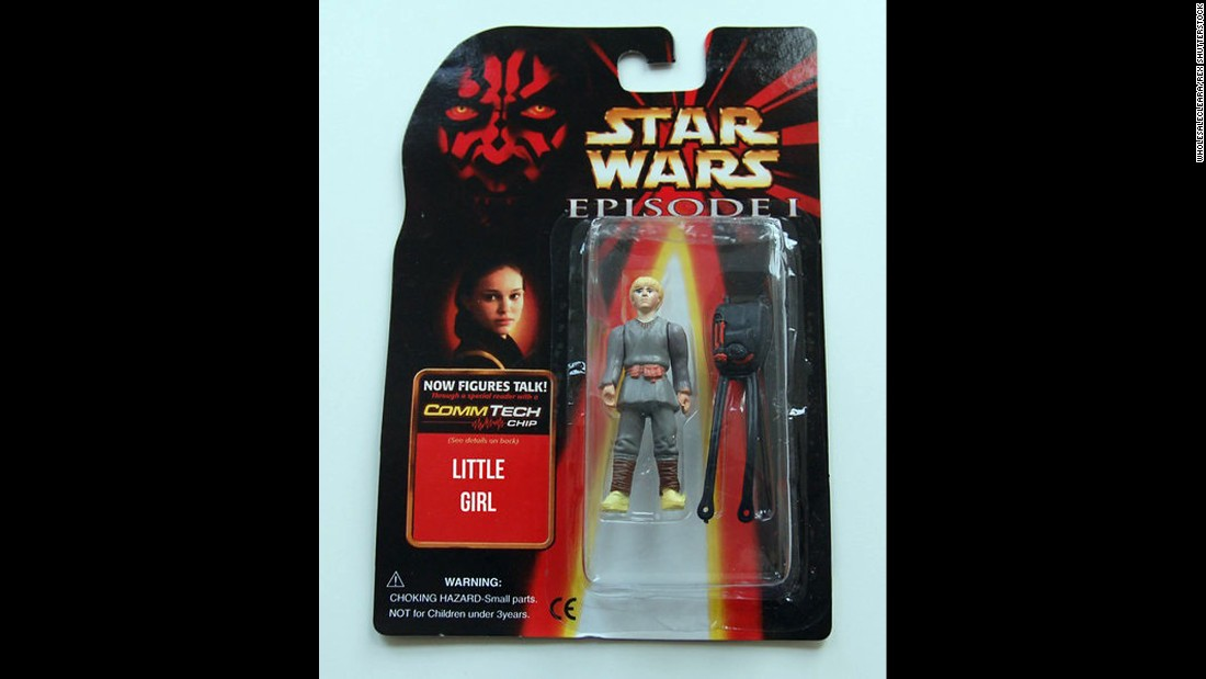 "Not a lot of people were enamored of young Anakin Skywalker, but ""Little Girl"" seems a bit harsh."