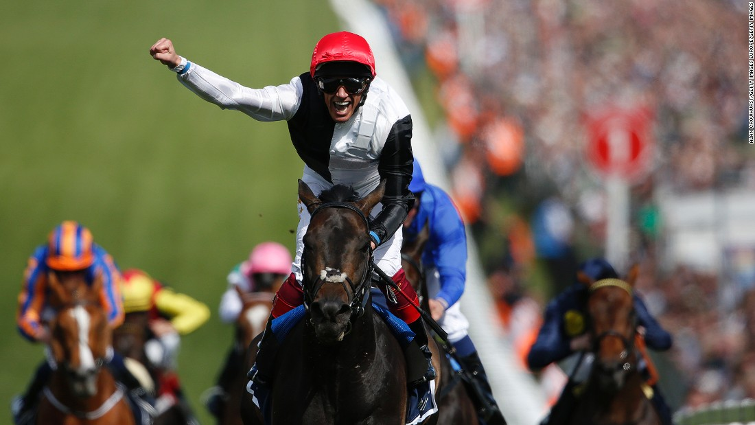The Italian has had a fruitful partnership with European horse of the year Golden Horn.