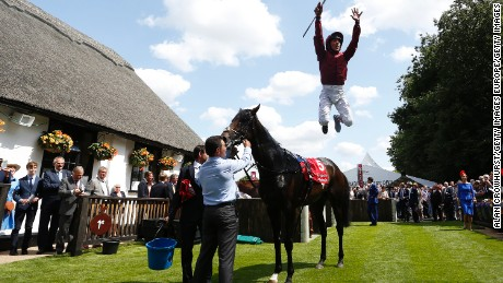 "Dettori most cherished achievement is winning all seven races at Ascot in September 1996. ""It's never been done before in 300 years of horse racing and it was done on a huge day,"" Dettori told CNN. For me (being a jockey) is like going on stage -- I come alive. I embrace it, it's part of my life."""