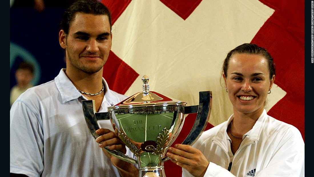 Federer and Hingis will be hoping to do Switzerland proud in the Rio Games next summer.