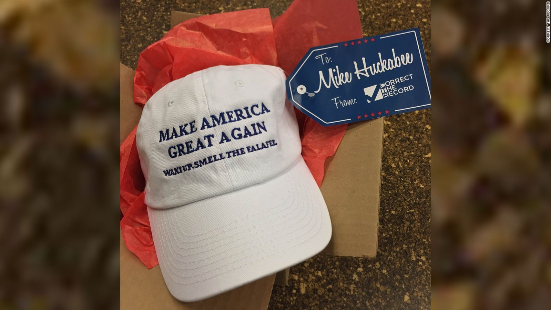 mike huckabee hat