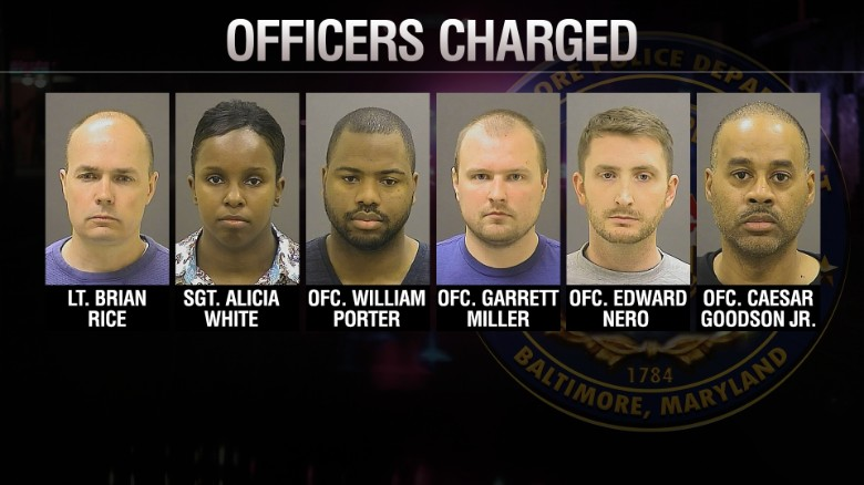 Officers on trial for Freddie Gray's death