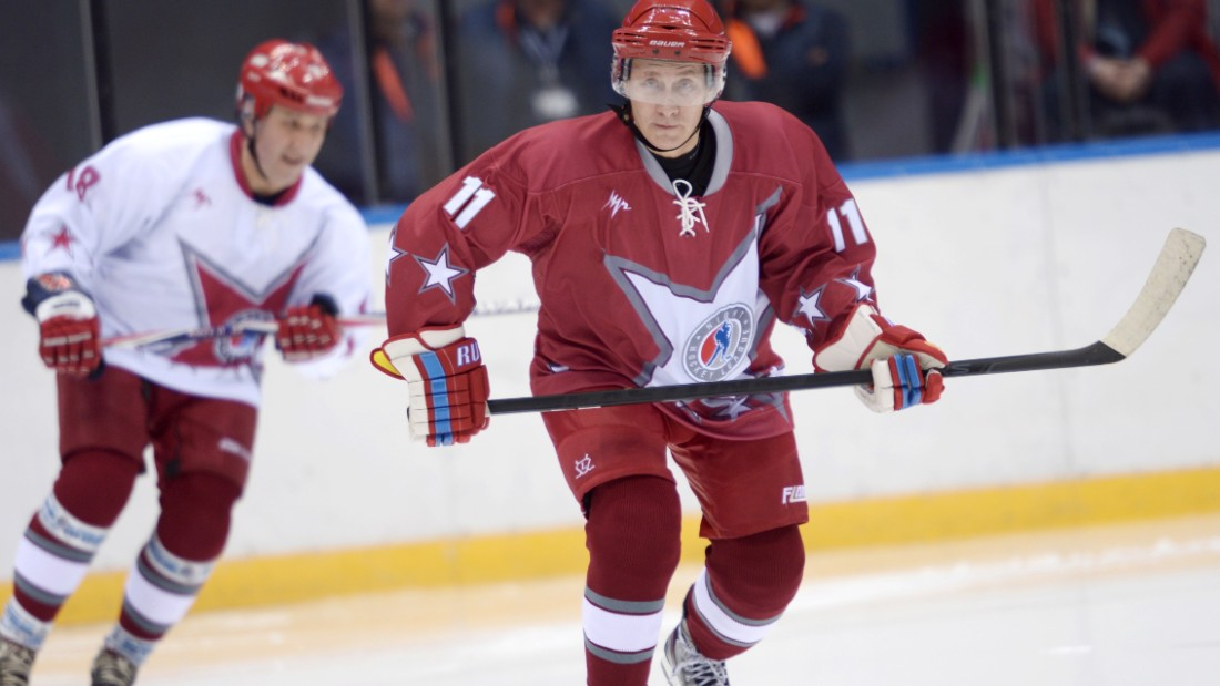 Putin's skiing prowess matches his man-of-action image -- he also joined the Russian ice hockey team ahead of the Games in Sochi.