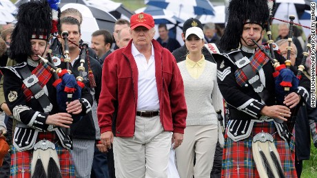 Trump faces backlash in Scotland over Muslim comments