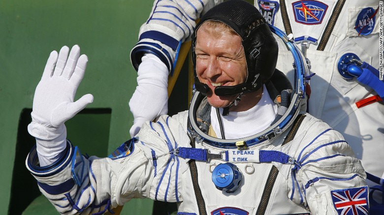 Meet the astronaut who made the phone call