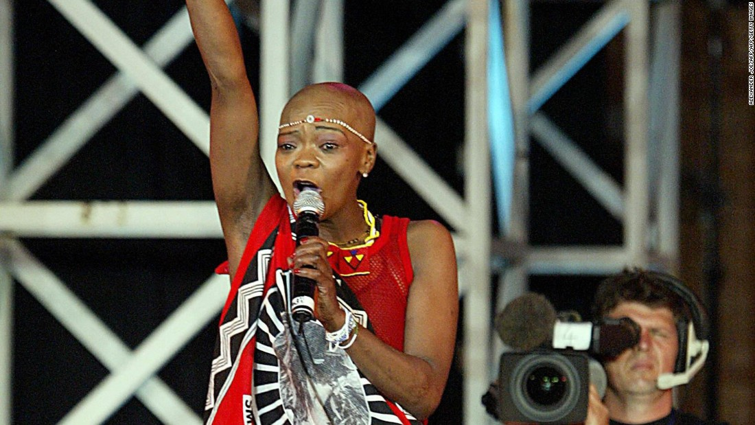"Brenda Fassie, the late South African pop star was called ""Madonna of the Townships."" One of the continent's biggest stars, she was famous for her flamboyant performances, her music loved by millions."