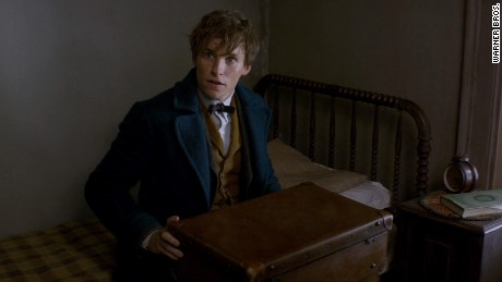 "Eddie Redmayne stars in Harry Potter prequel ""Fantastic Beasts and Where to Find Them."""