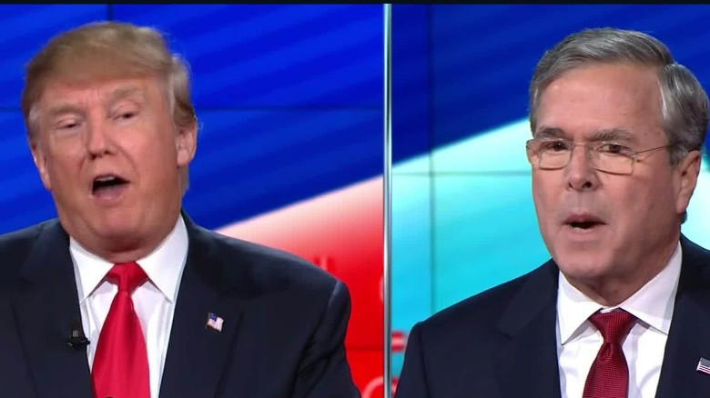 Jeb Bush: Palin wrong to call Trump conservative
