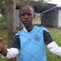 Mathare Foundation kid portrait