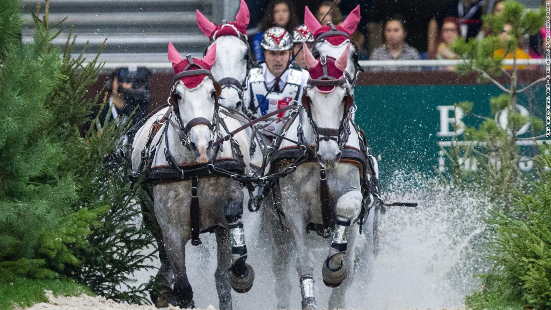Sebastien Mourier is one of France's top racers. He started out in pony driving at the age of 16.<br />