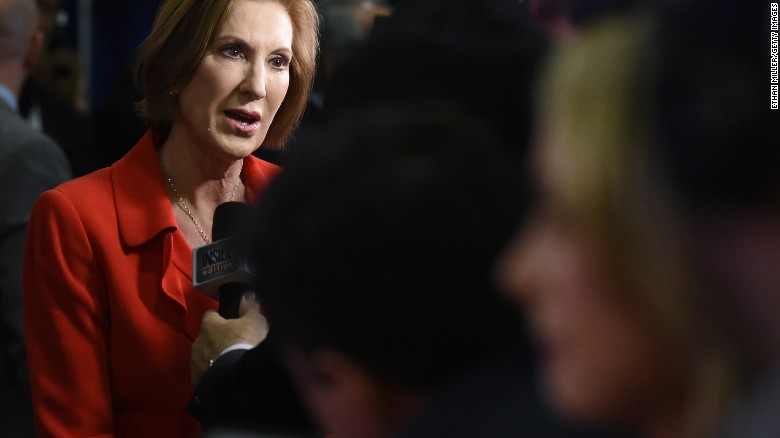 Fiorina defends Rose Bowl tweet