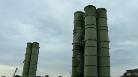 Up close with Russian S-400 missile system in Syria