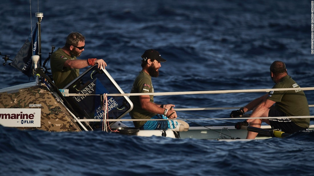 """When you lose your limb you have to think about every single detail,"" Royce says. ""Every single thing we're setting out in the boat, we're looking at the easiest way to do it so it's accessible."""