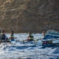Atlantic rowers training