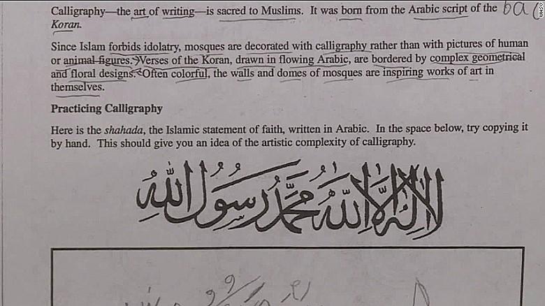 Homework On Islam No Threat To Christians Opinion Cnn