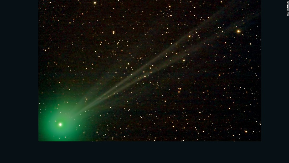 An image of the Comet Lovejoy was taken with a 120mm refractor telescope in the late summer of 2014 by Dan Llewellyn at the Deerlick Astronomy Village.
