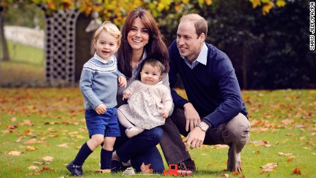 Will and Kate's royal family