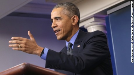 Obama touts his record at last press conference of 2015