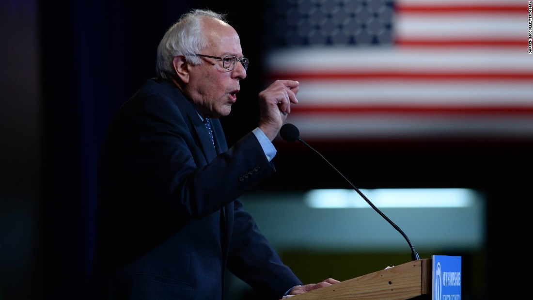 Sanders flies coach, social media says he's first class