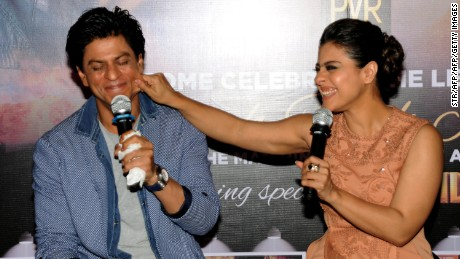 Shah Rukh Khan and Kajol display their chemistry