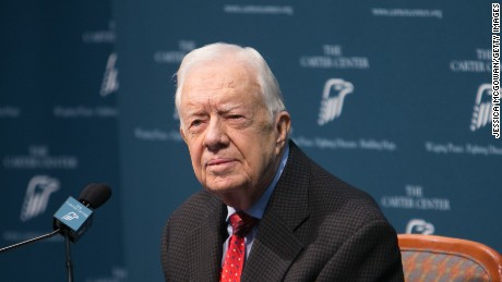 Jimmy Carter recovers after operation to fix broken hip